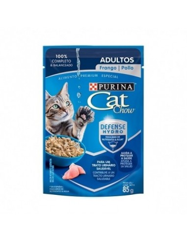 Cat Chow Pouch Adulto Pollo 85gr