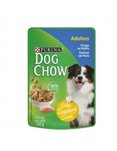 Dog Chow Pouch Adulto de Pollo